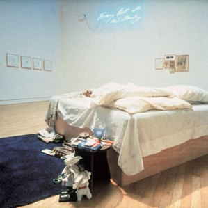 Tracey Emin's room in the 1999 exhibition