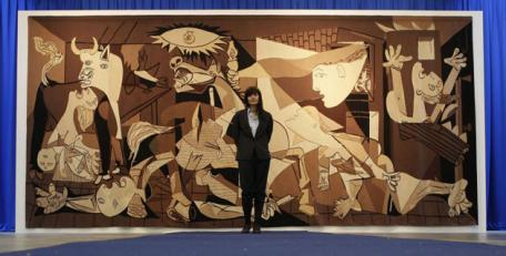 Guernica Tapestry, Whitechapel Gallery, London.Source: www.independent.co.uk